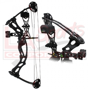 HOYT FIRESHOT BLACK - READY TO SHOOT PACKAGE